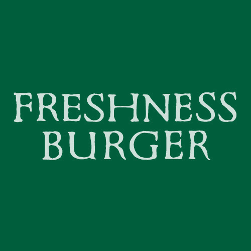 FRESHNESS BURGER ロゴ